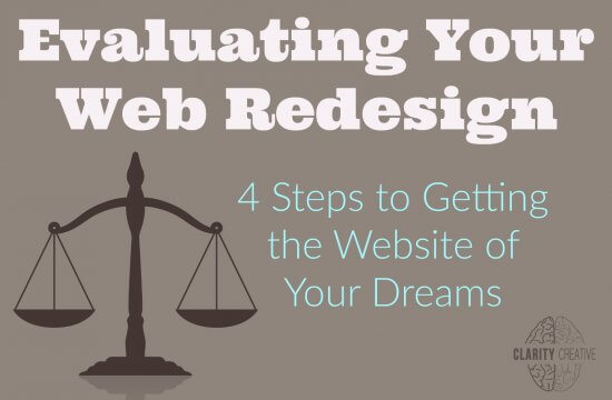 Evaluating Your Web Redesign