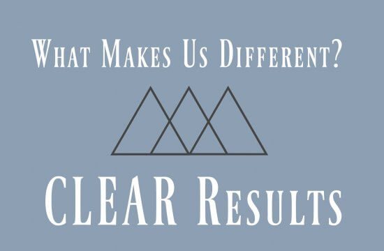 What Makes Us Different? CLEAR Results