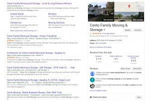 Local SEO Results - Orlando SEO Company